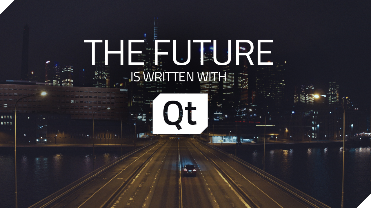 the future is written with Qt