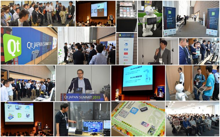Qt JAPAN SUMMIT Breakout collage