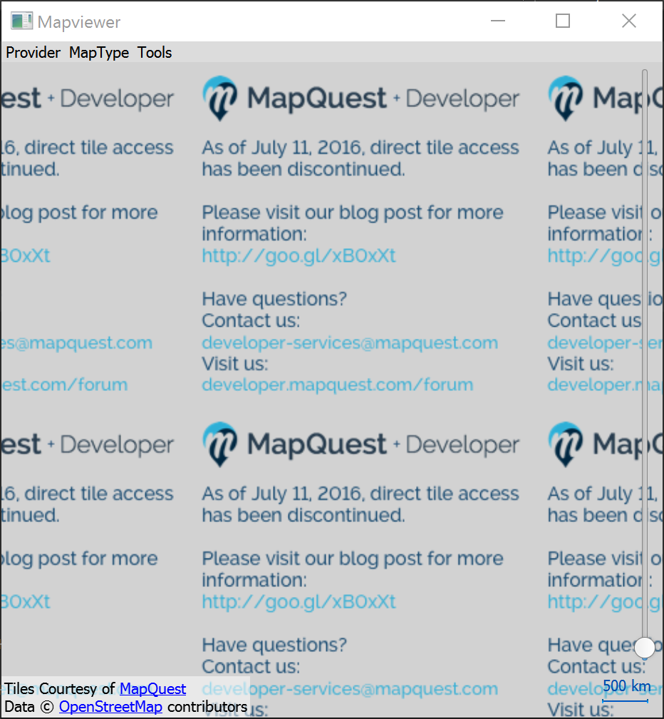 MapQuest ceasing open access