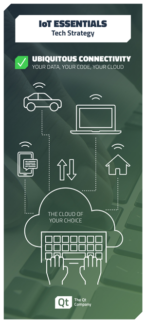 Qt Top 5 Considerations IoT infographic