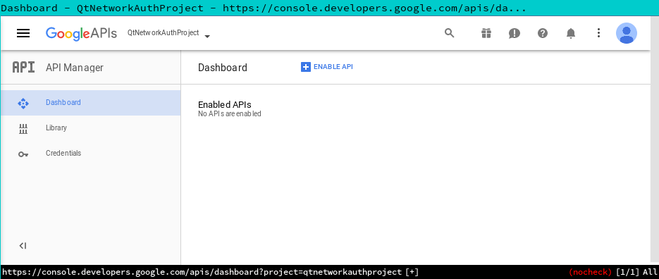 Connecting your Qt application with Google Services using