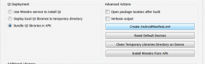 "Screenshot of ""Create Manifest"" button in Creator"