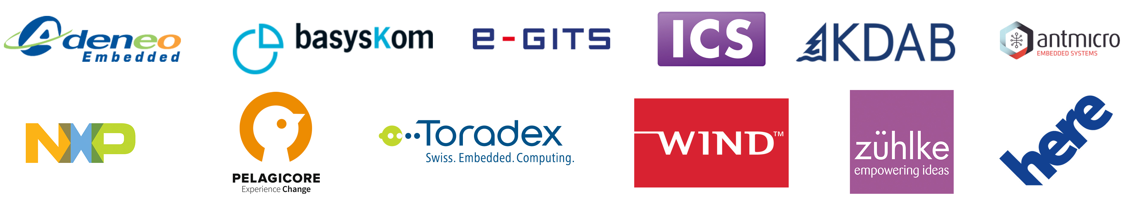 Qt Embedded World Demo Partners