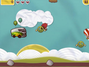 Flying Bus QML Game