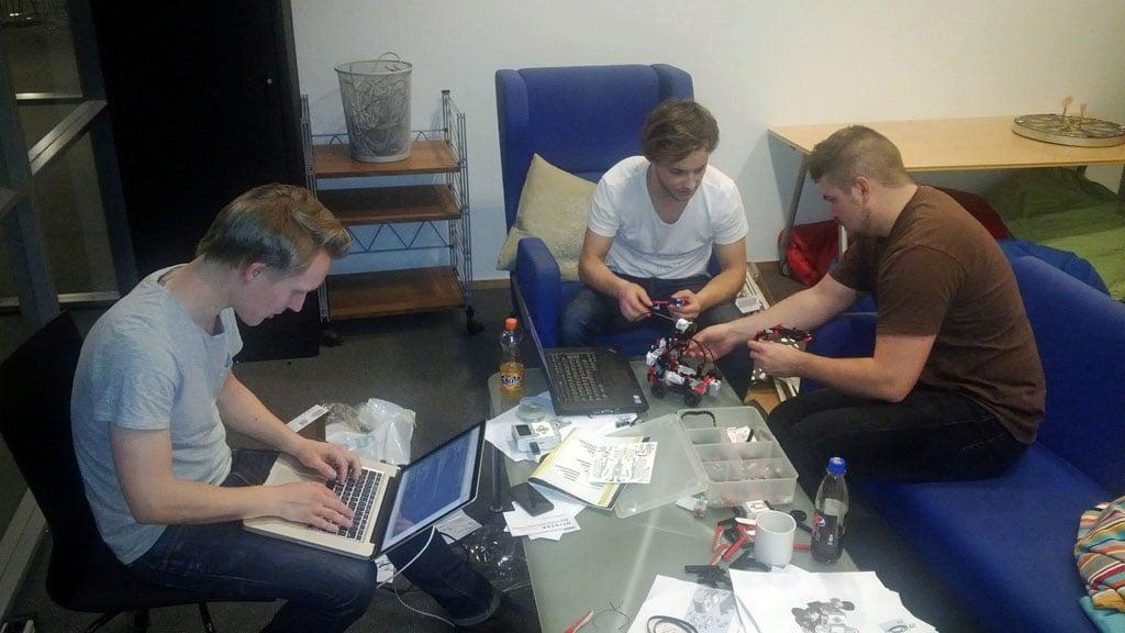 Running Qt in Lego Mindstrom EV3