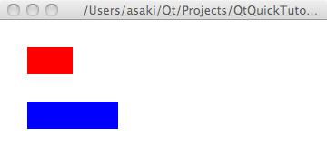 リストAの実行画面