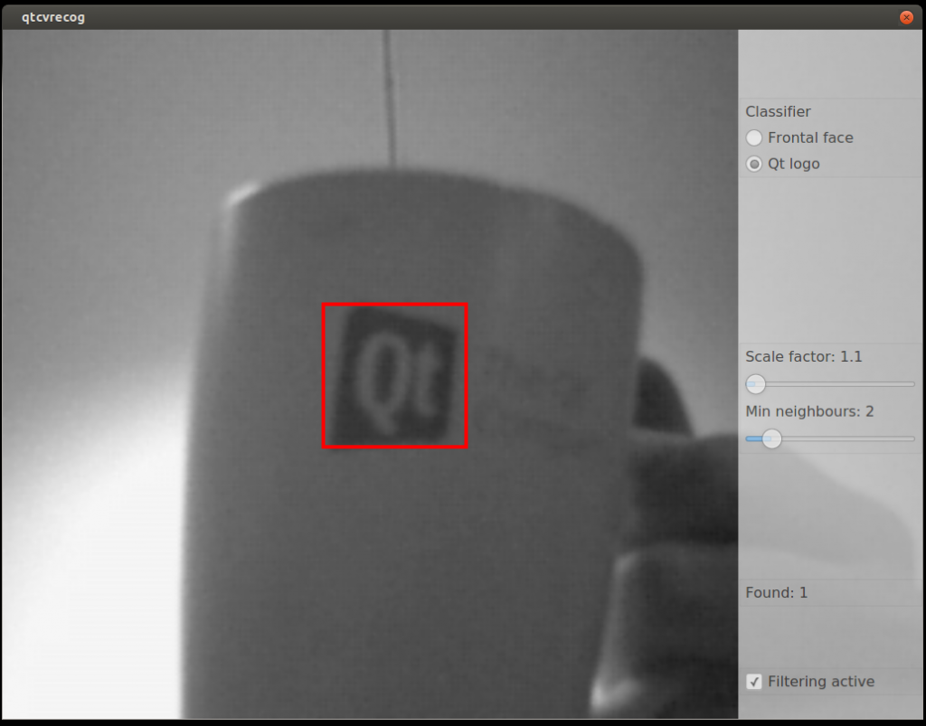 Qt logo recognition with OpenCV in a Qt Quick app