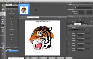 Screenshot of Qt Quick Designer