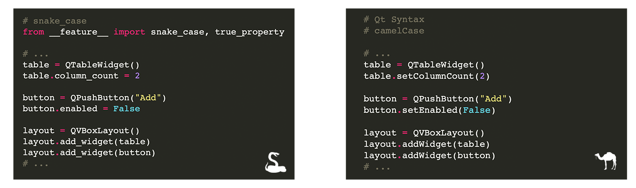 Qt for python code examples
