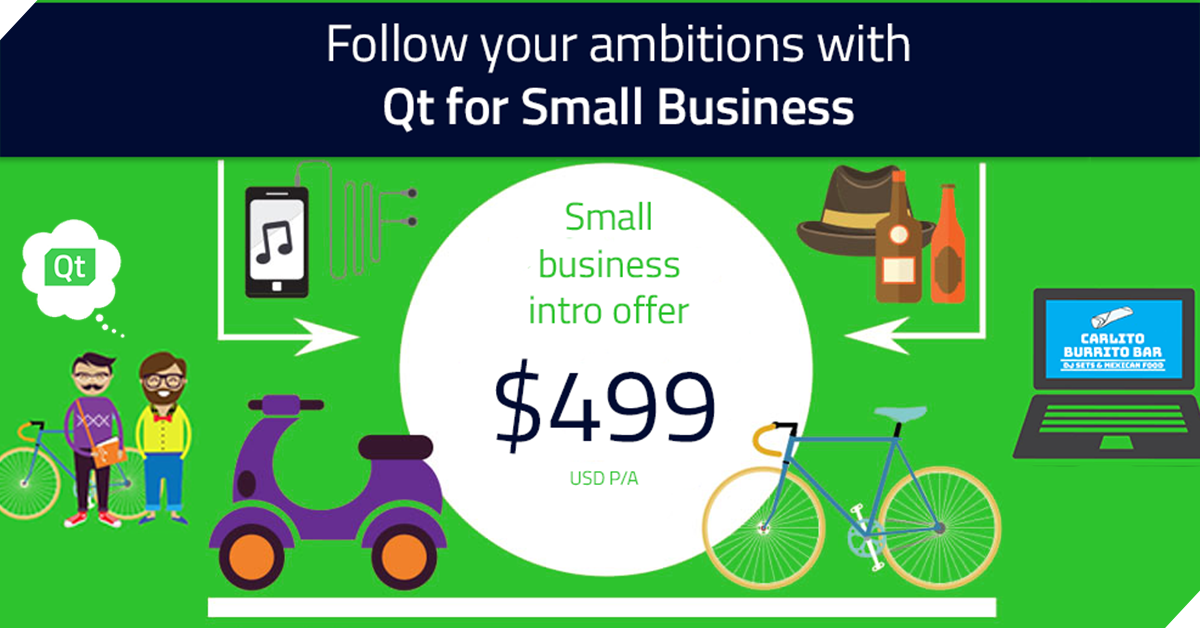 Qt for small Business SoME
