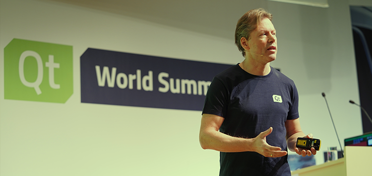 Lars Knoll at Qt World Summit