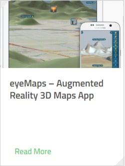 eyeMaps - Augmented Reality 3D Maps App