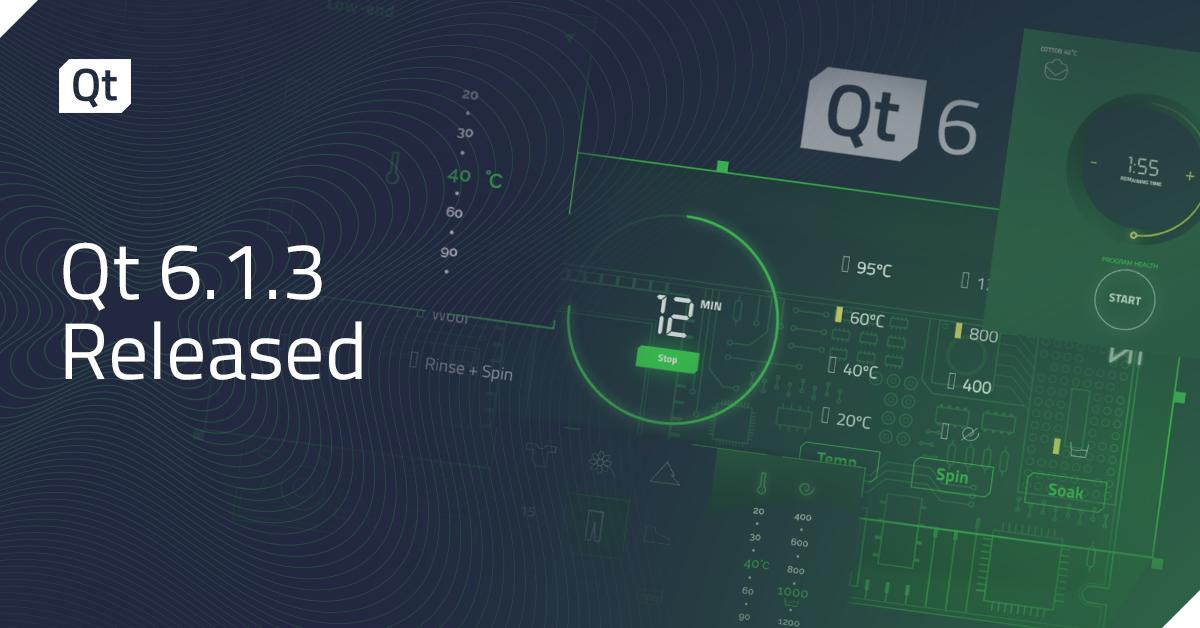 Qt 6.1.3 Released