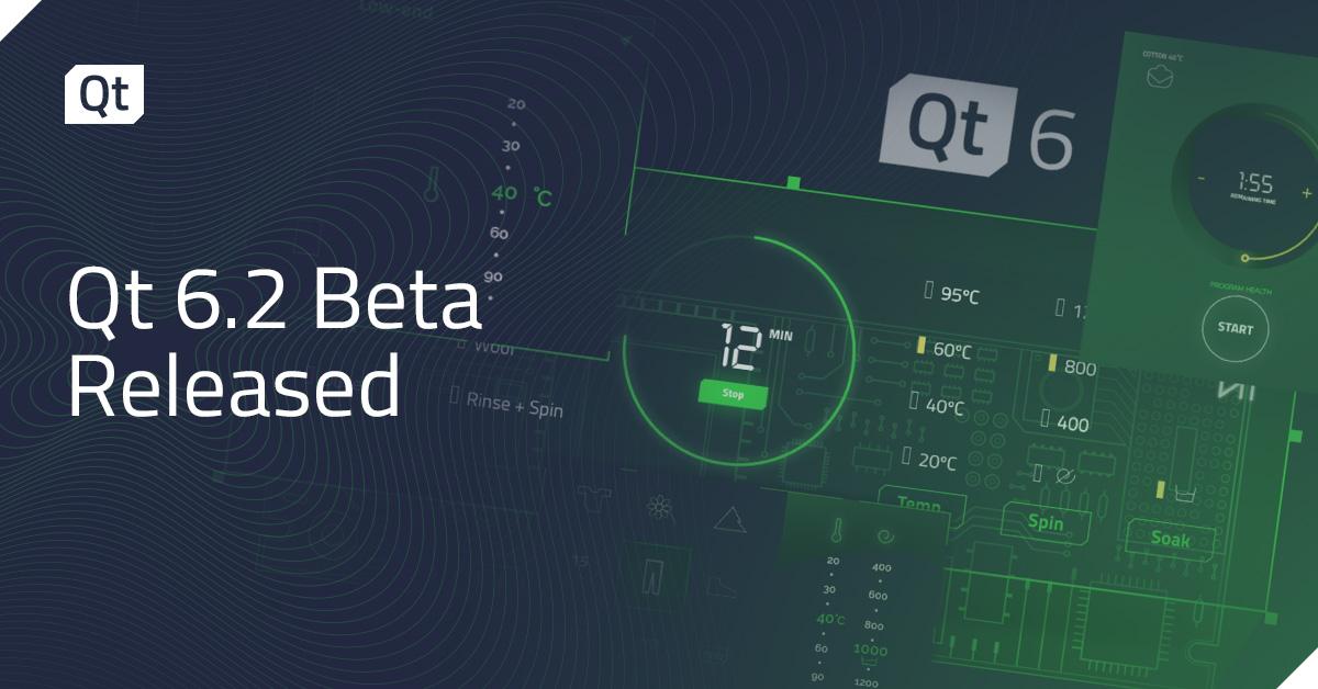 Qt 6.2 Beta released