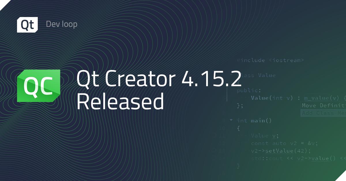 Qt Creator 4.15.2 Released