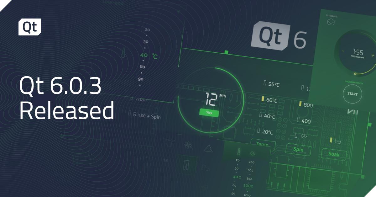 Qt 6.0.3 Released