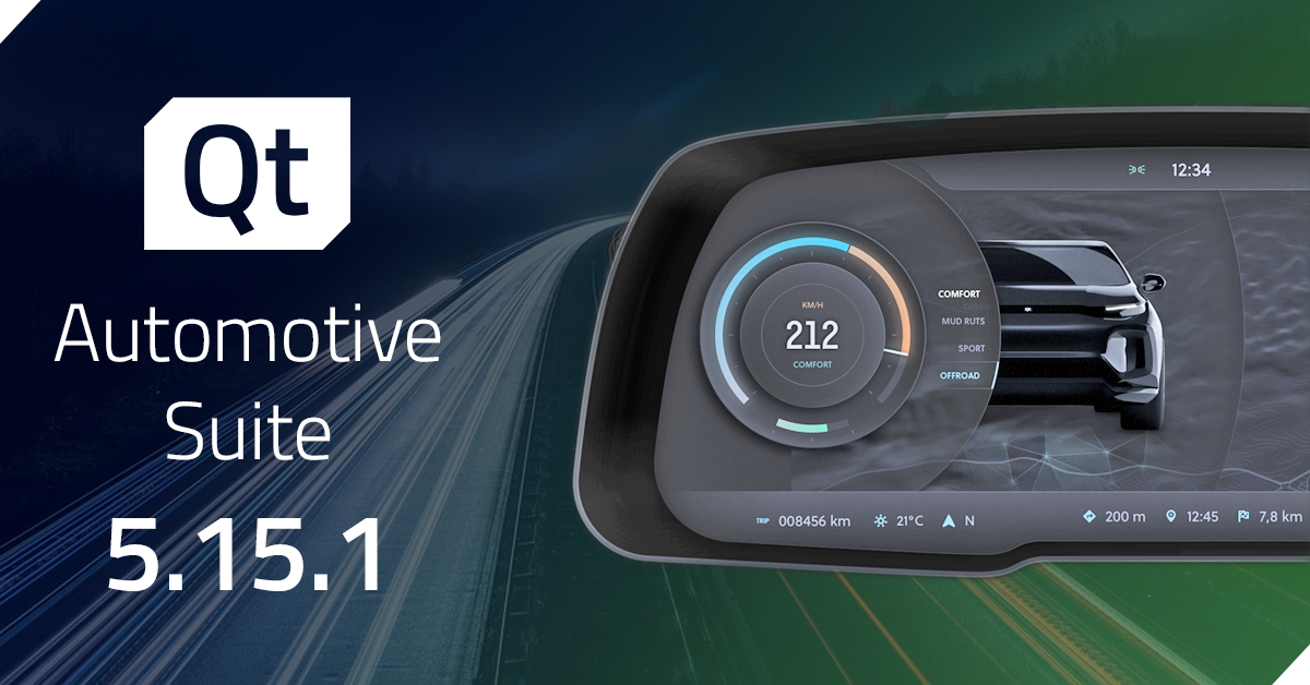 Qt Automotive Suite 5.15.1 Released