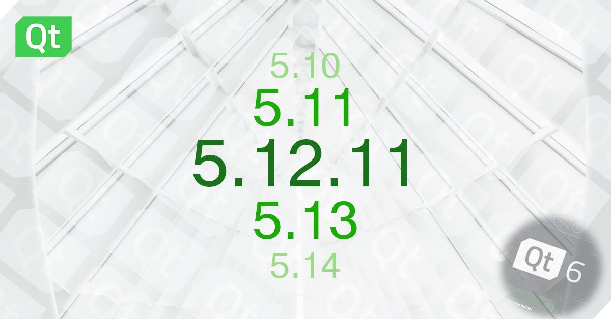 Qt 5.12.11 Released