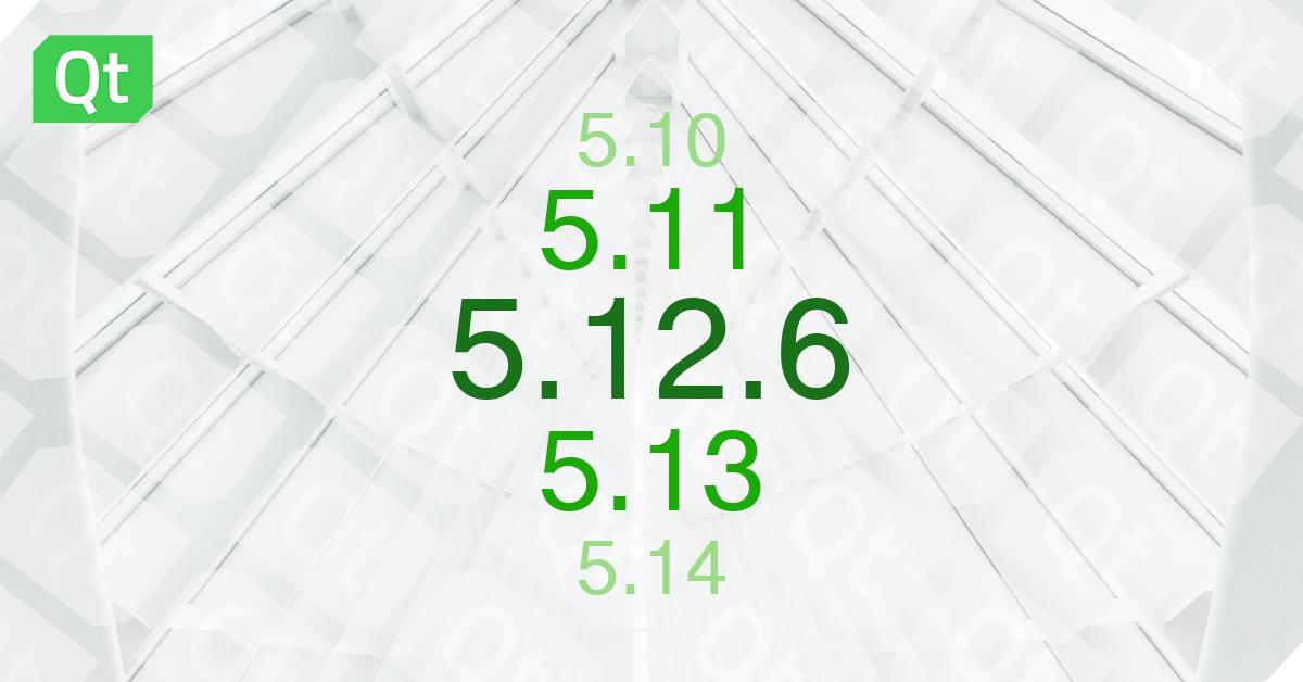 Qt 5.12.6 Released