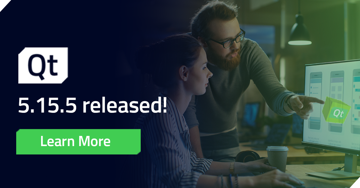 Commercial LTS Qt 5.15.5 Released