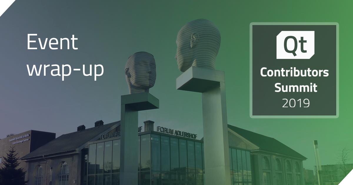 Qt Contributors' Summit 2019 wrap-up