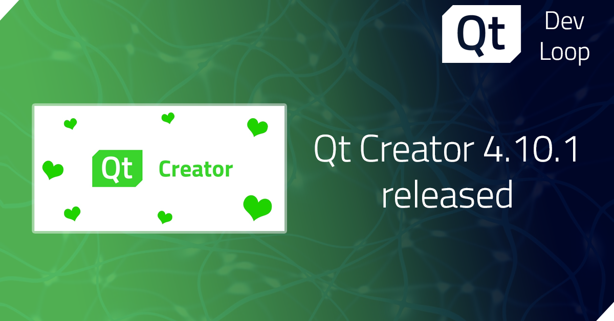 Qt Creator 4.10.1 released