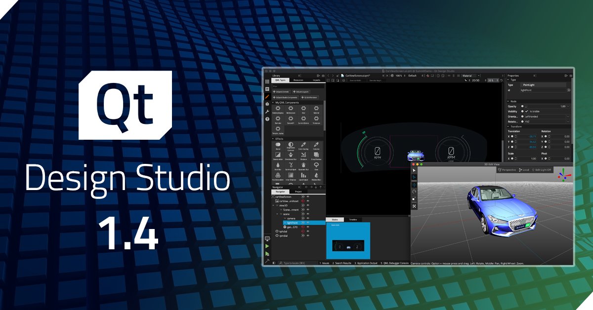 Qt Design Studio 1.4 released