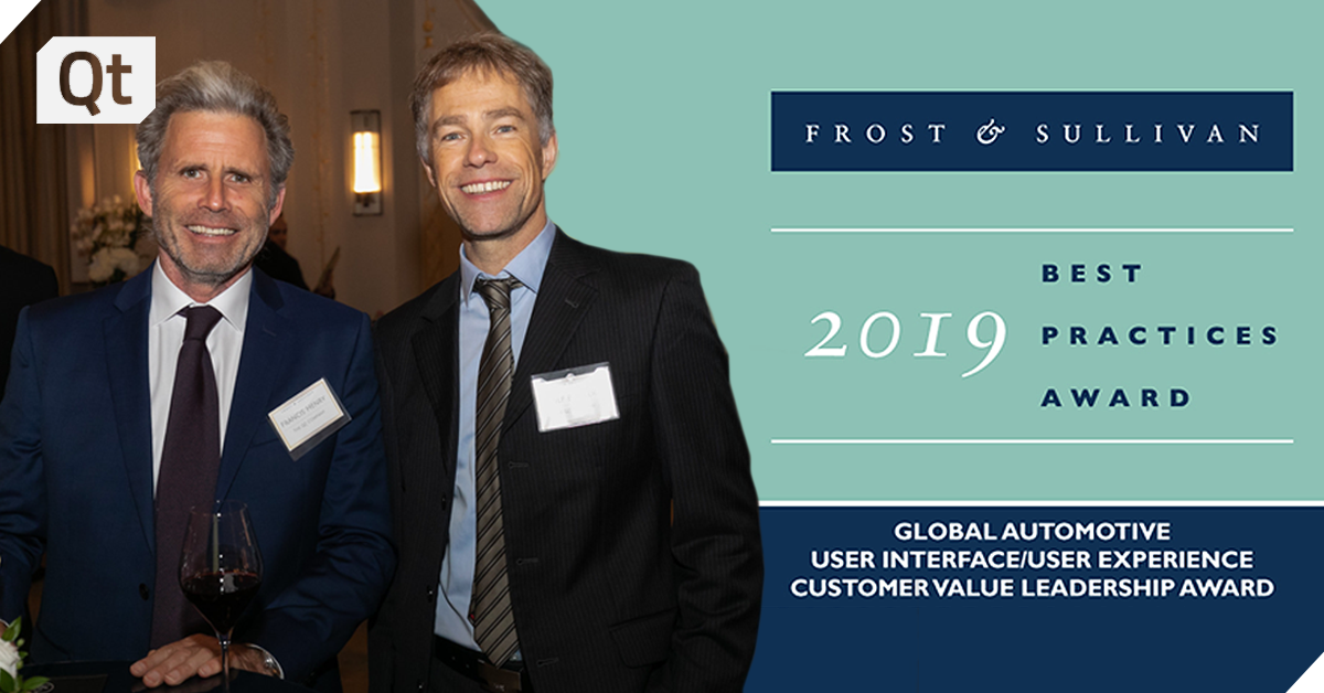 Frost & Sullivan Presents Qt with its Customer Value Leadership Award