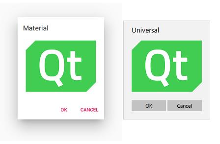 Qt Quick Controls 2 - Dialogs