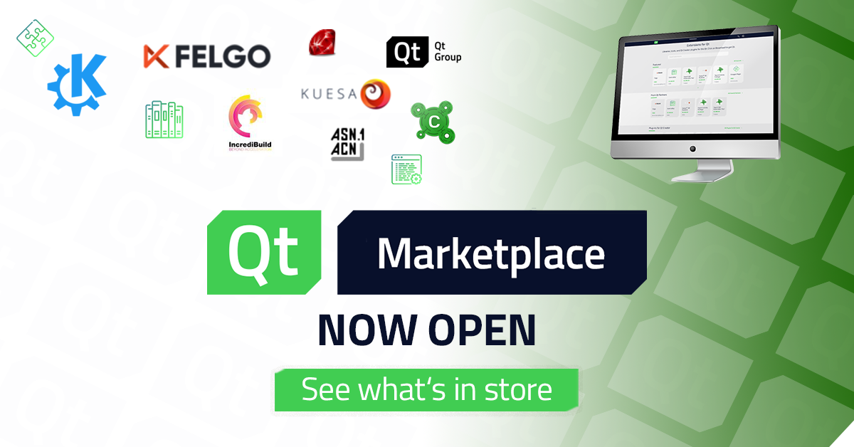 The Qt Marketplace has landed!