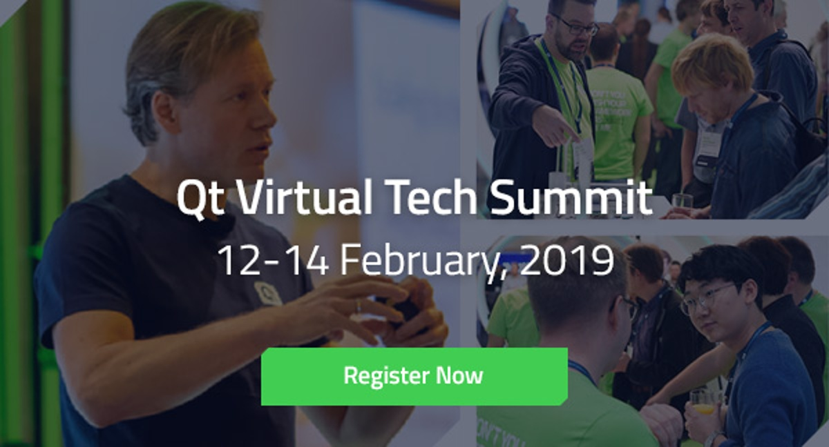 Qt Virtual Tech Summit Registration is Open!