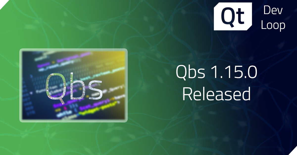 Qbs 1.15.0 released
