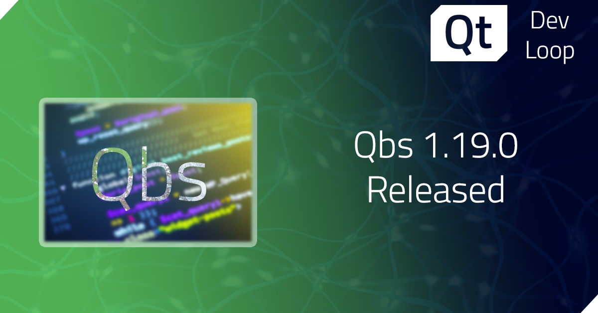 Qbs 1.19.0 released