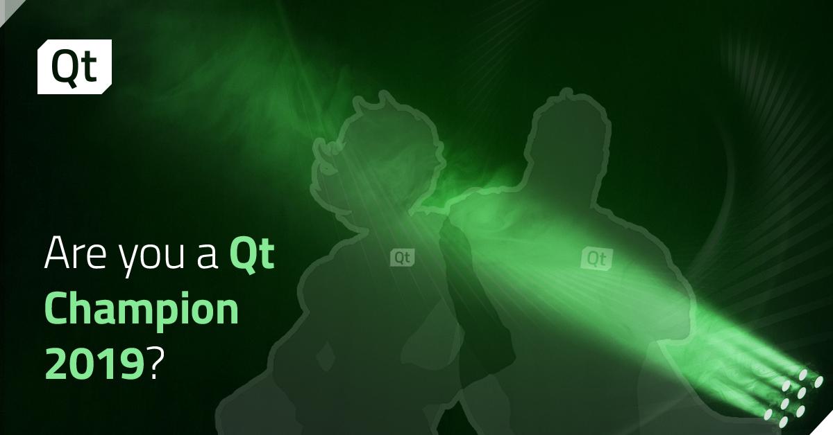 Qt Champion 2019