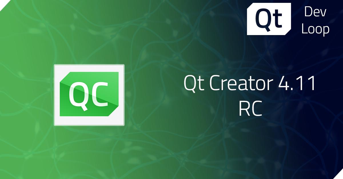 Qt Creator 4.11 RC