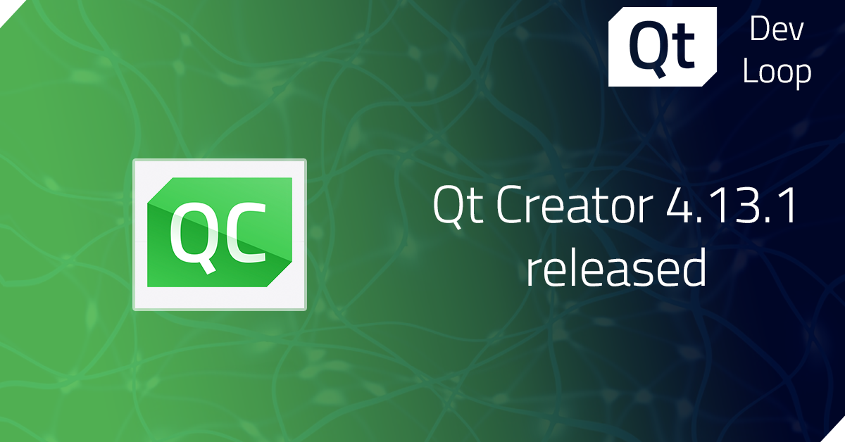 Qt Creator 4.13.1 released