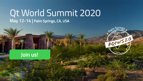 Qt World Summit 2020 | Save the Date & Call for Speakers