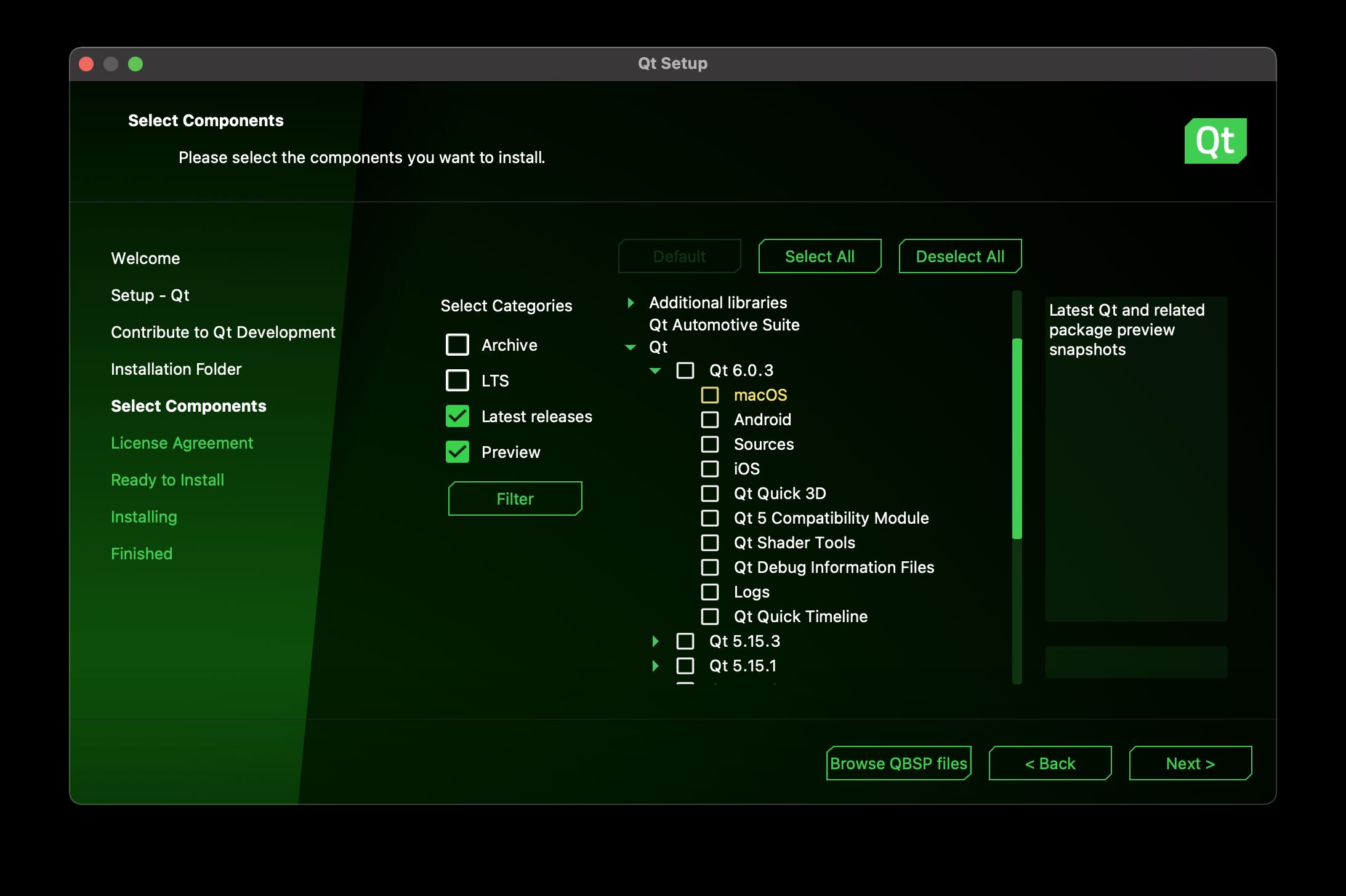 Qt Installer Framework 4.1 Released