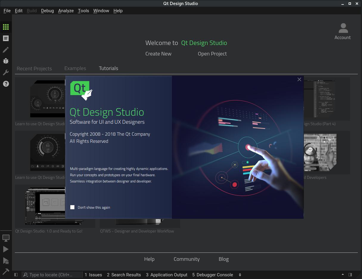 Qt Design Studio 1.3.1 released