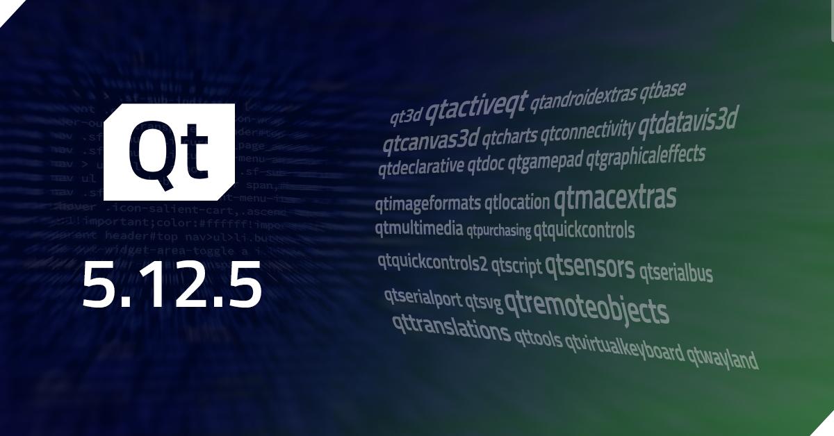 Qt 5.12.5 Released