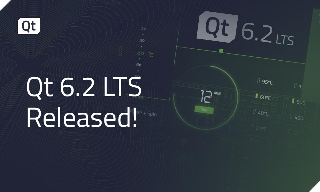 Qt 6.2 LTS Released